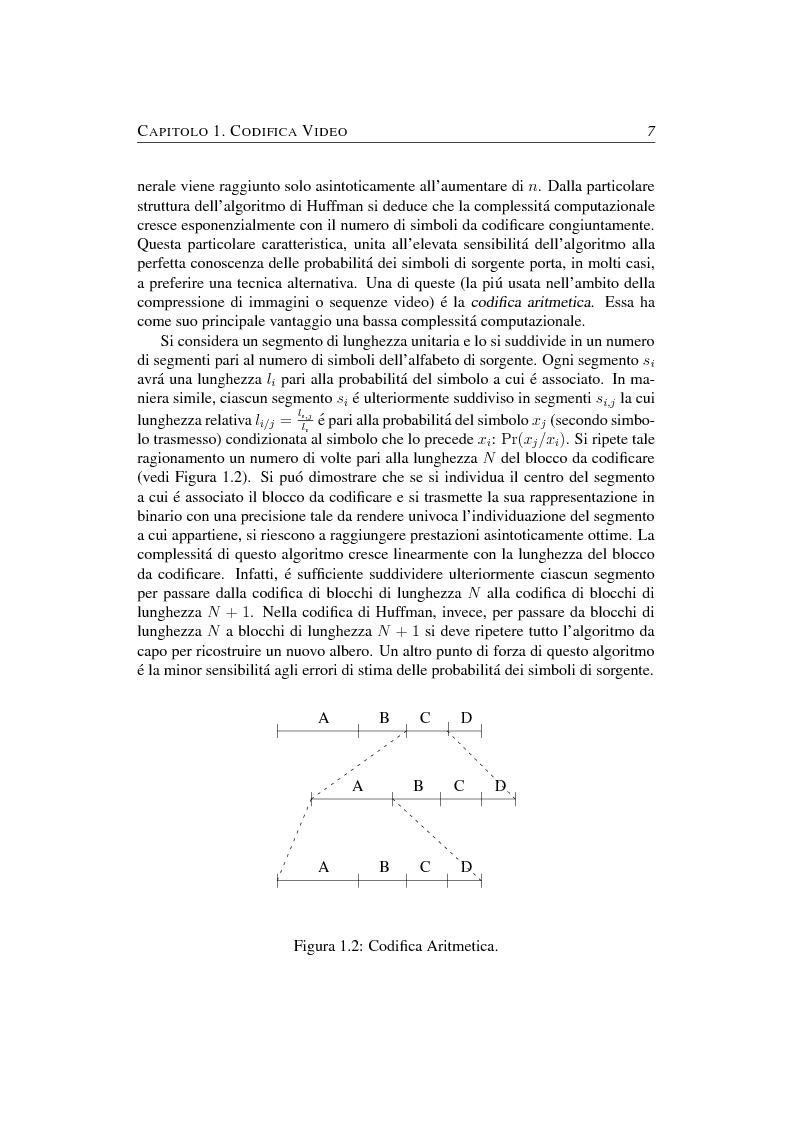 Anteprima della tesi: Compressione object-based del segnale video mediante trasformata Wavelet, Pagina 7