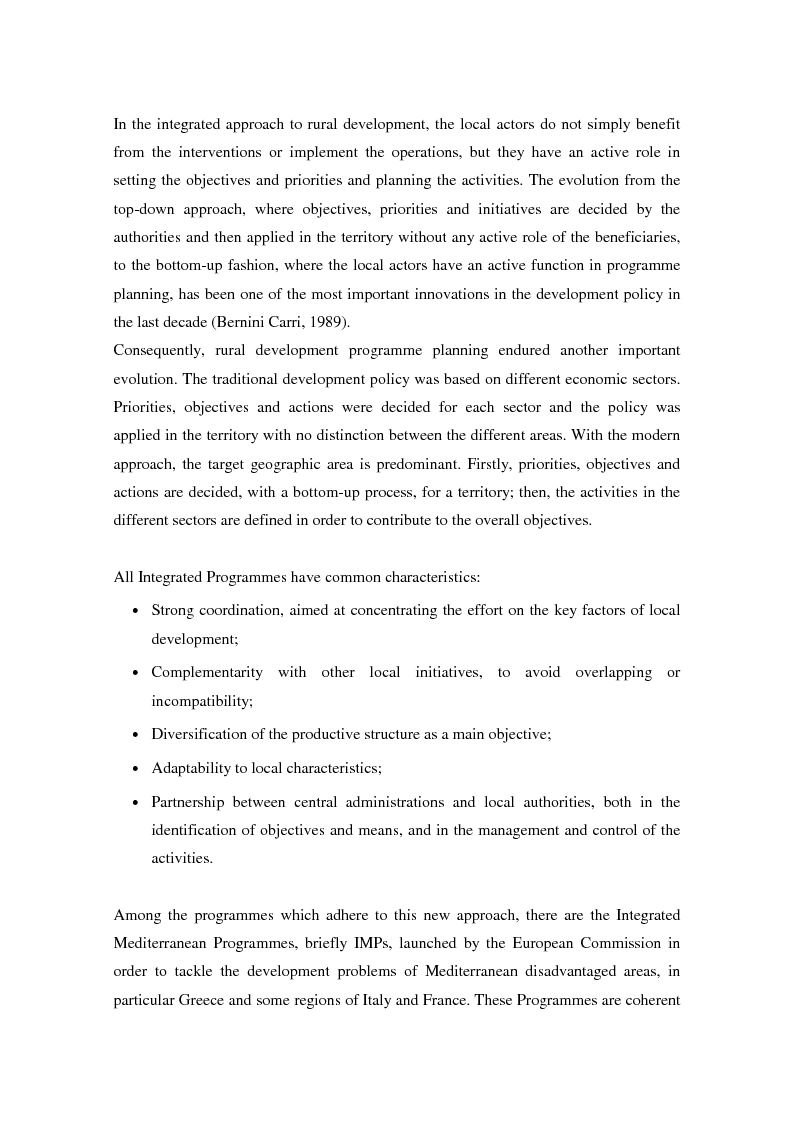 Anteprima della tesi: A decision-making model as an assisting tool in designing evaluation strategies for integrated rural development programmes, Pagina 4