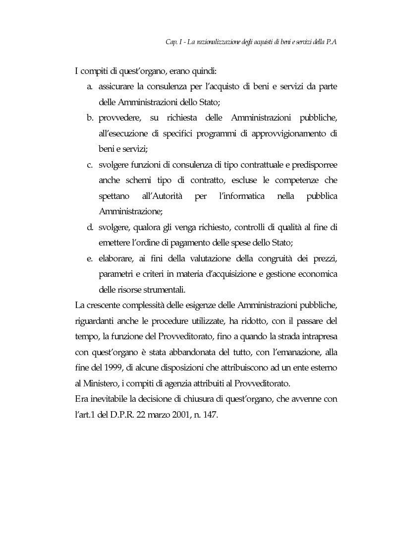 Anteprima della tesi: E-procurement per beni e servizi nella pubblica amministrazione: un'analisi di fattibilità nel settore sanitario, Pagina 10