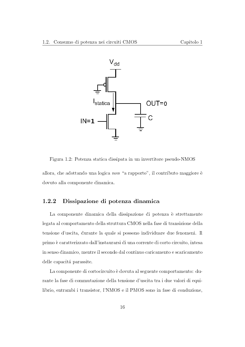 Anteprima della tesi: Progettazione di un moltiplicatore binario veloce a basso consumo di potenza, Pagina 7