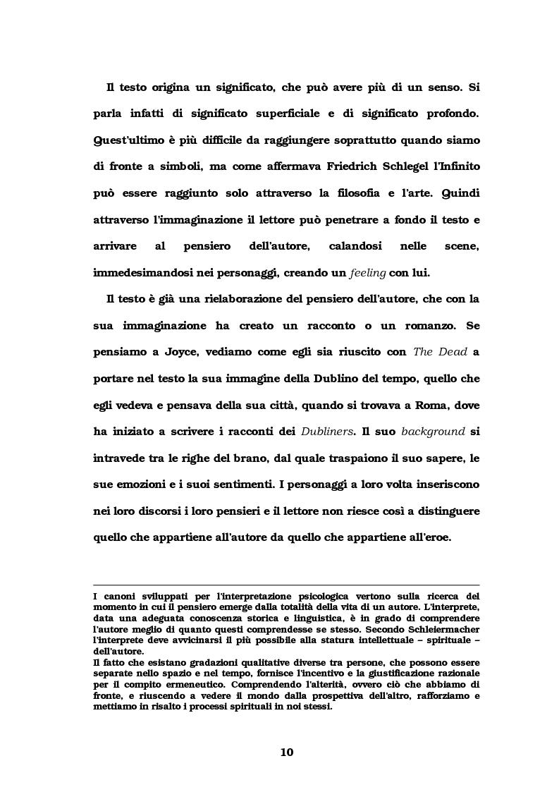 Anteprima della tesi: Autore e lettore a confronto: la doppia interpretazione, Pagina 7