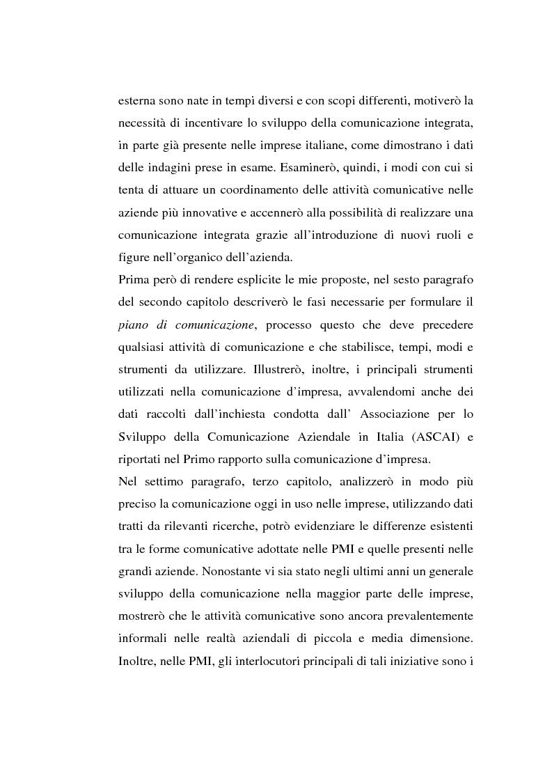 Anteprima della tesi: La comunicazione organizzativa: teorie e condizioni di realizzazione nelle imprese italiane, Pagina 7