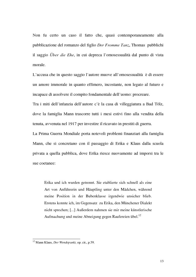 Anteprima della tesi: L'ombra di Klaus Mann, Pagina 12