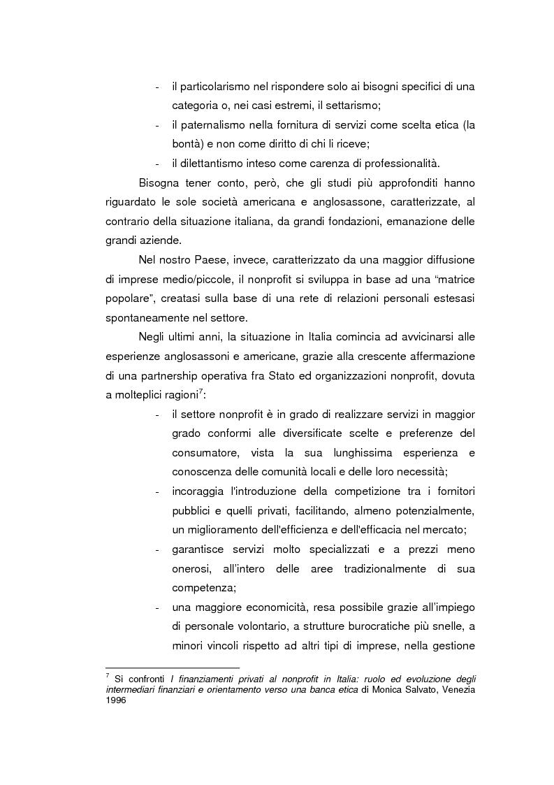 Anteprima della tesi: Fondazioni bancarie e attività culturali. Il caso Fondazione Cassamarca di Treviso, Pagina 5