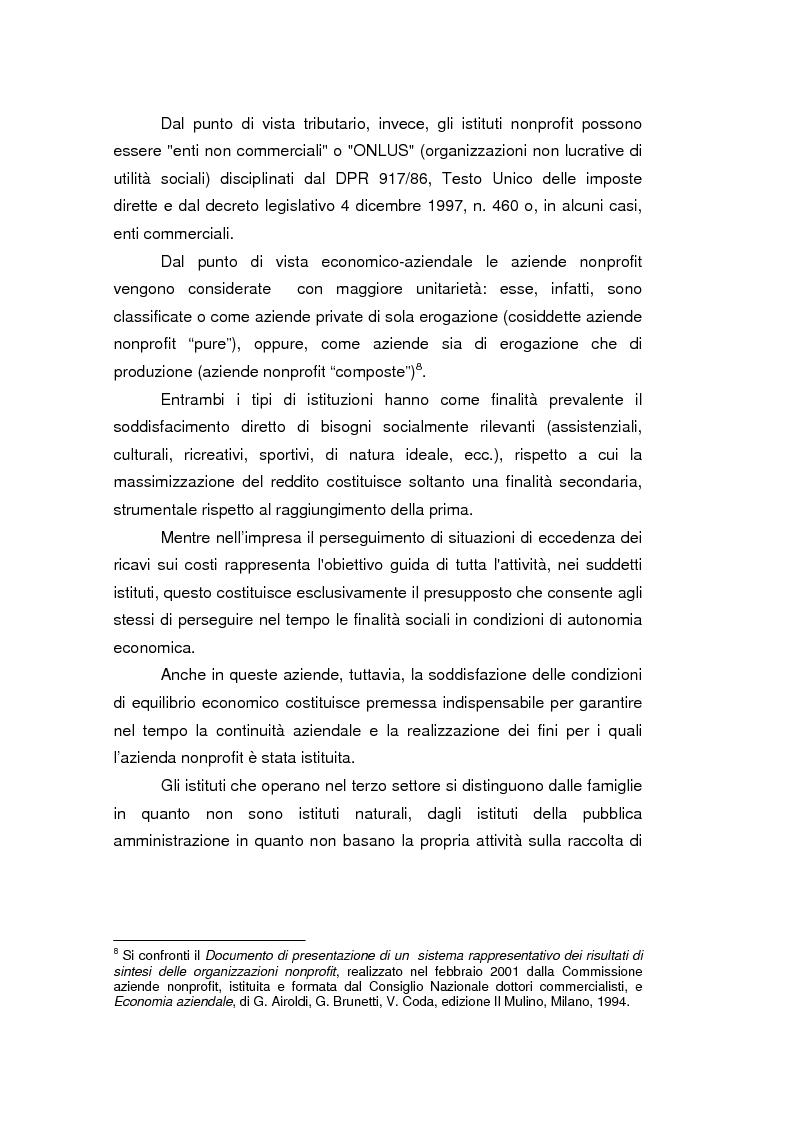 Anteprima della tesi: Fondazioni bancarie e attività culturali. Il caso Fondazione Cassamarca di Treviso, Pagina 8