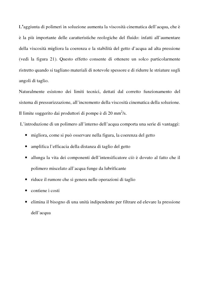 Anteprima della tesi: La struttura dei getti d'acqua ad alta velocità. Studio teorico e sperimentale, Pagina 1