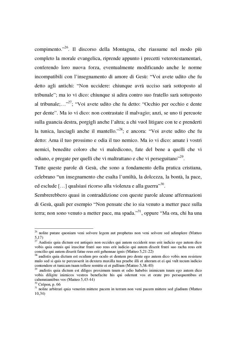 Anteprima della tesi: Il concetto di guerra in Graziano e Tommaso d'Aquino, Pagina 13