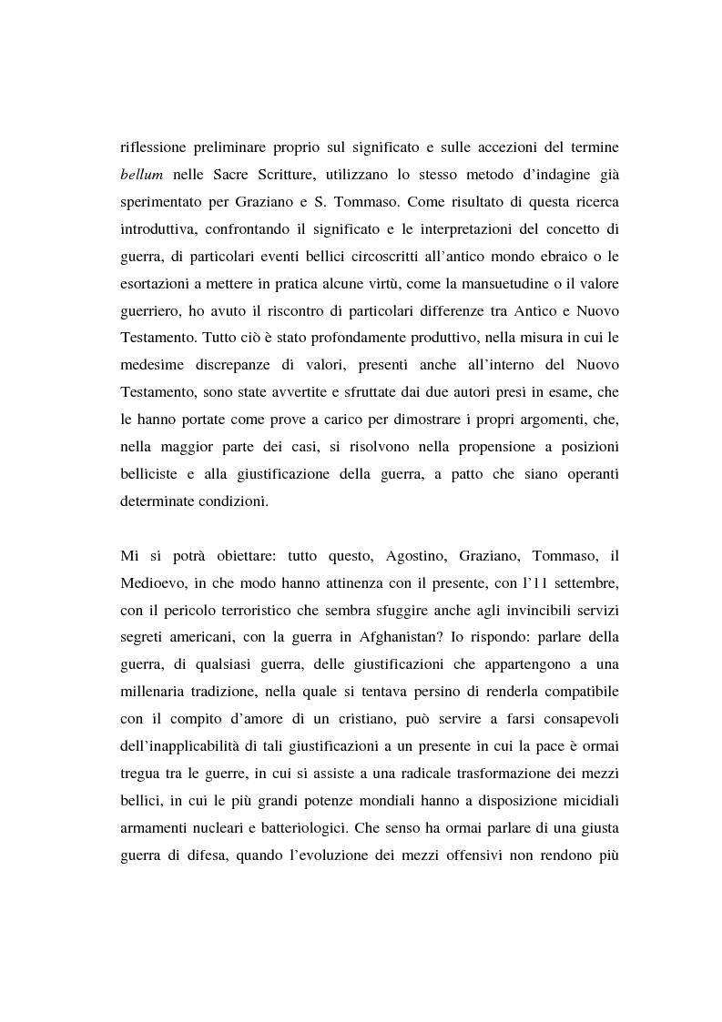 Anteprima della tesi: Il concetto di guerra in Graziano e Tommaso d'Aquino, Pagina 4