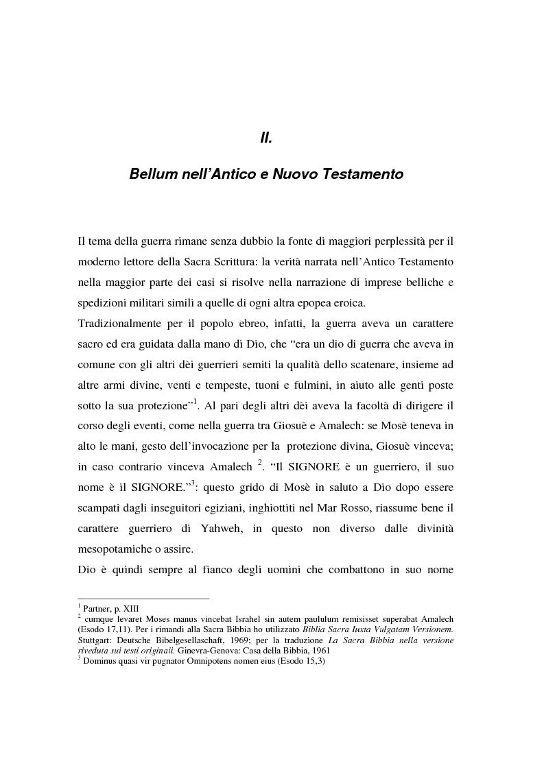 Anteprima della tesi: Il concetto di guerra in Graziano e Tommaso d'Aquino, Pagina 7