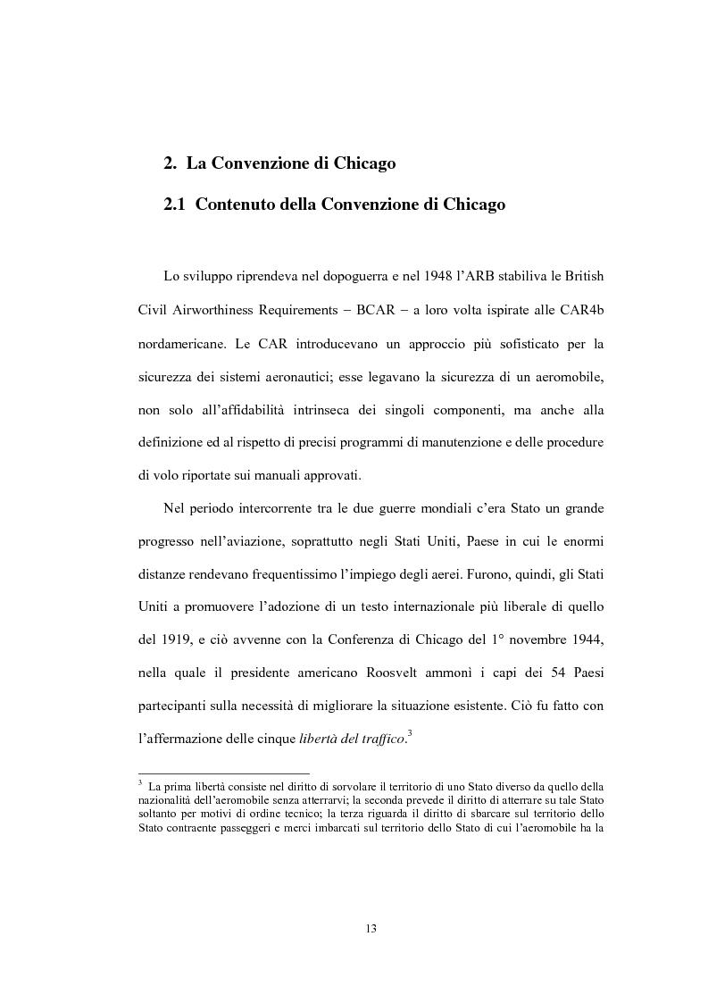 Anteprima della tesi: La sicurezza della navigazione aerea, Pagina 10