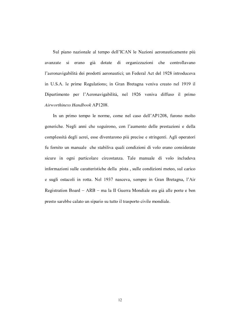 Anteprima della tesi: La sicurezza della navigazione aerea, Pagina 9