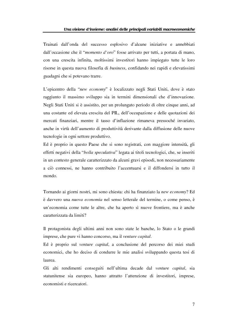 Anteprima della tesi: Il venture capital per lo sviluppo delle imprese: il caso Novuspharma s.p.a., Pagina 2