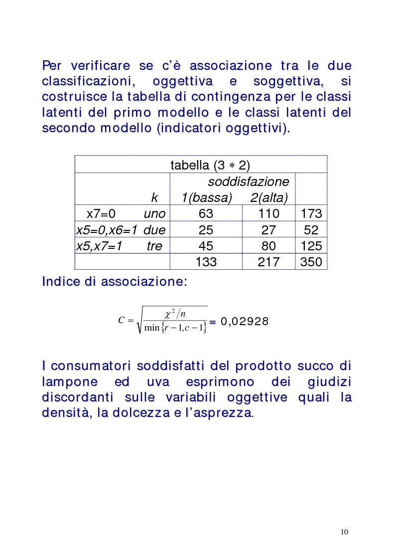 Anteprima della tesi: Le classi latenti: una analisi fattoriale per dati categoriali, Pagina 10