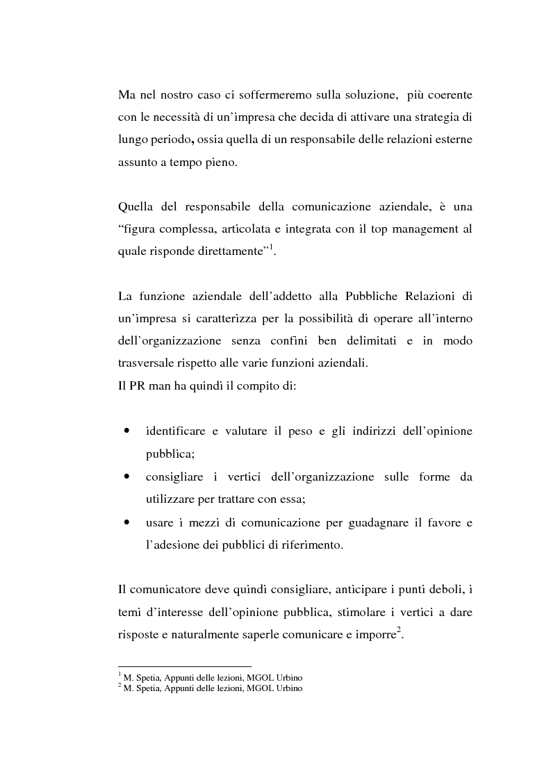 Anteprima della tesi: Alla ricerca di visibilità: la comunicazione delle piccole imprese, Pagina 3