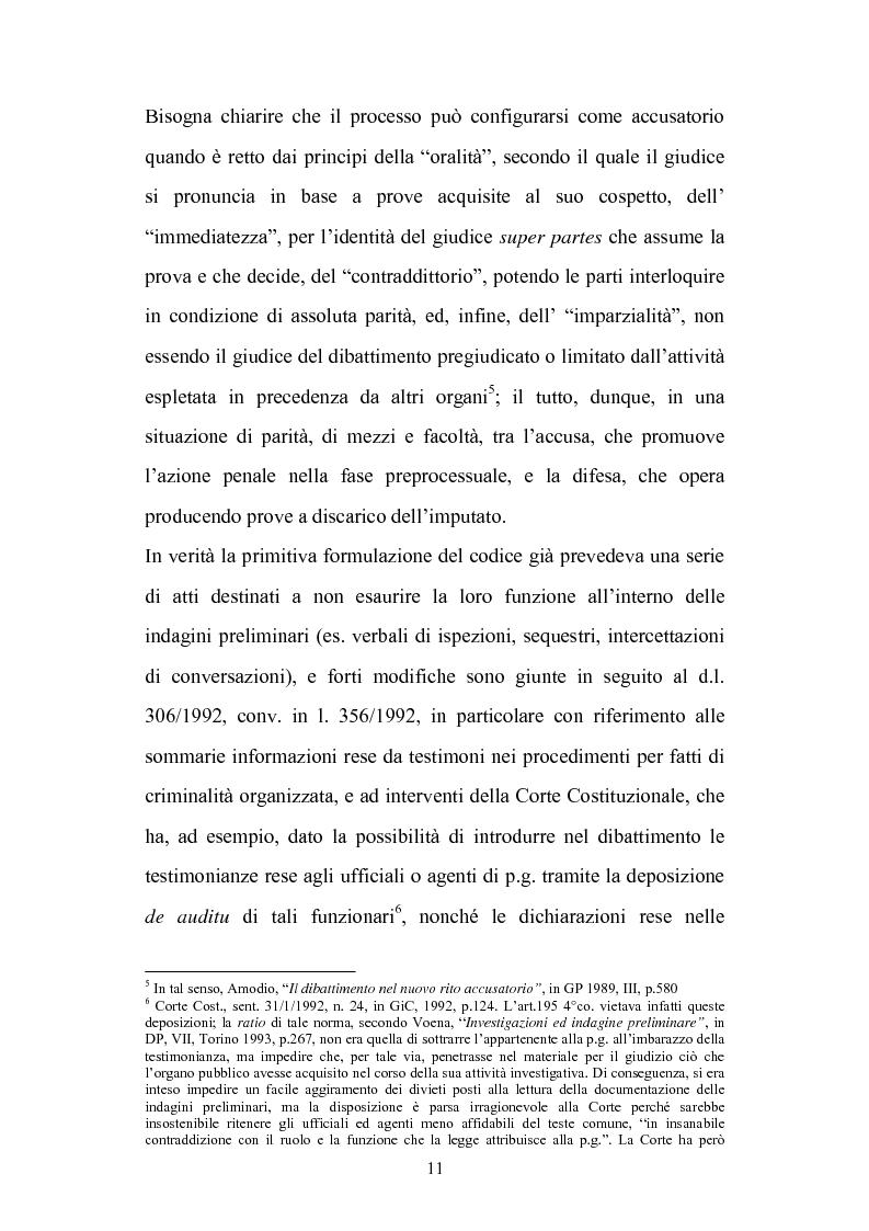 Anteprima della tesi: La chiusura delle indagini preliminari, Pagina 9