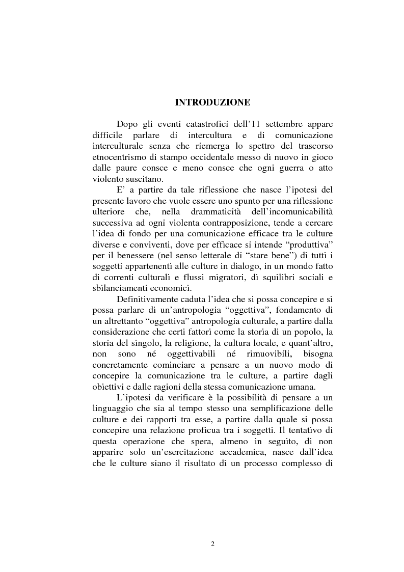 Anteprima della tesi: Il dialogo sui diritti umani tra l'Islam europeo e l'Europa della Carta dei diritti fondamentali dell'Unione, Pagina 1
