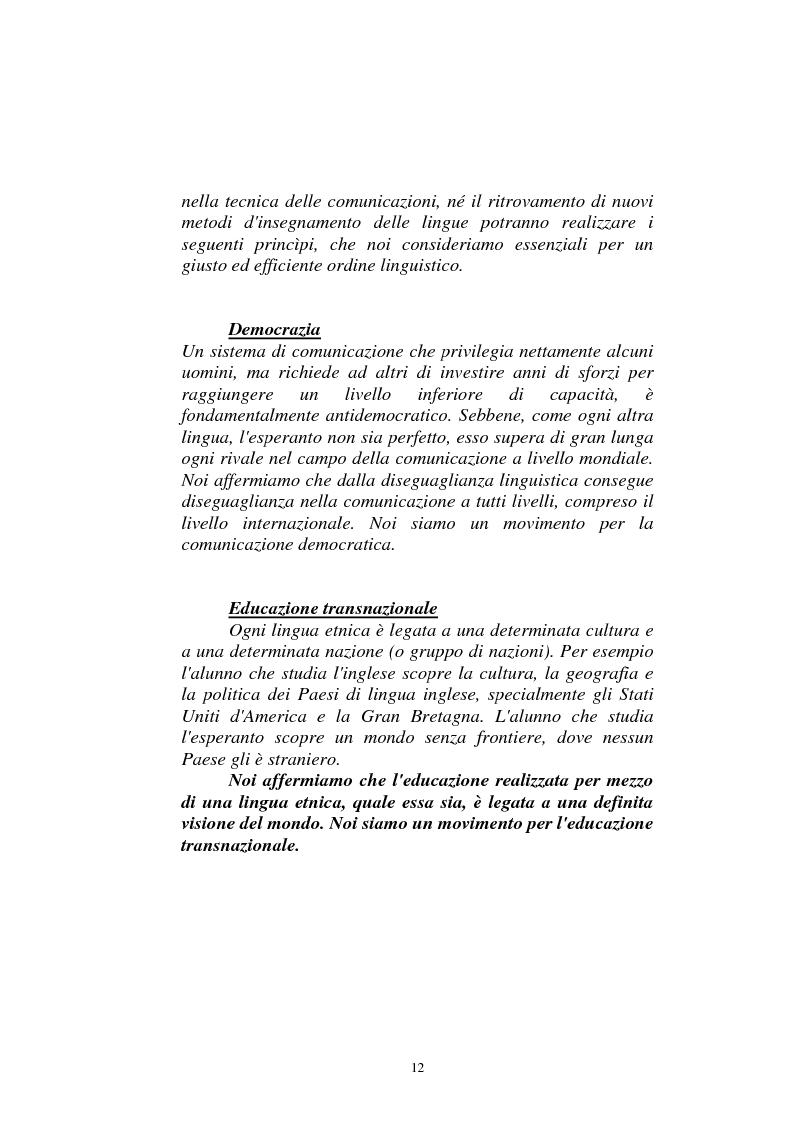 Anteprima della tesi: Il dialogo sui diritti umani tra l'Islam europeo e l'Europa della Carta dei diritti fondamentali dell'Unione, Pagina 11