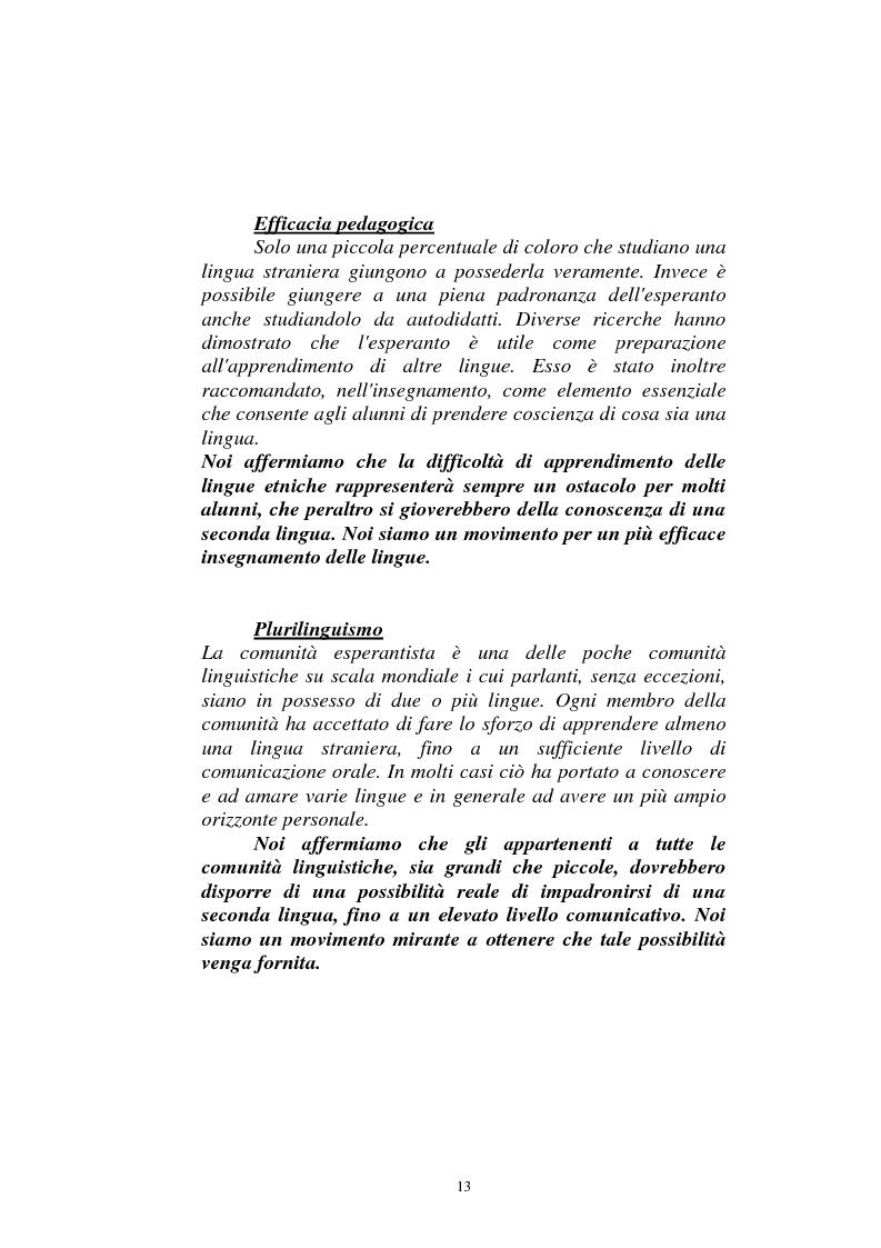 Anteprima della tesi: Il dialogo sui diritti umani tra l'Islam europeo e l'Europa della Carta dei diritti fondamentali dell'Unione, Pagina 12