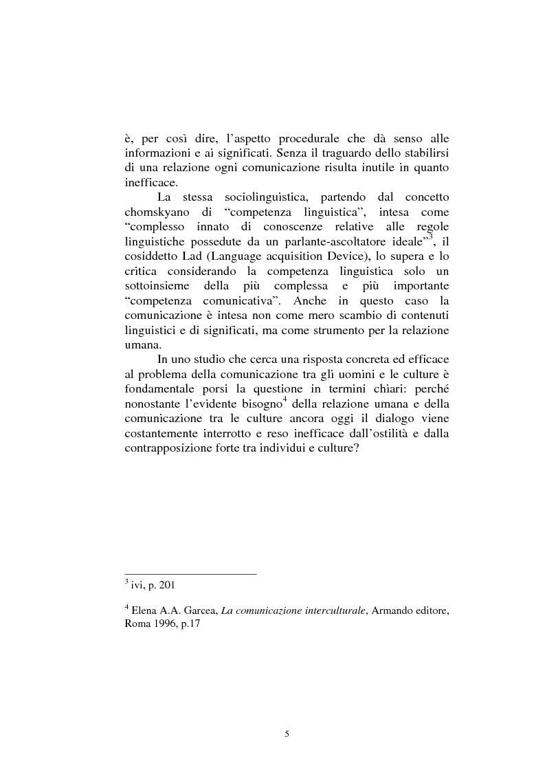 Anteprima della tesi: Il dialogo sui diritti umani tra l'Islam europeo e l'Europa della Carta dei diritti fondamentali dell'Unione, Pagina 4