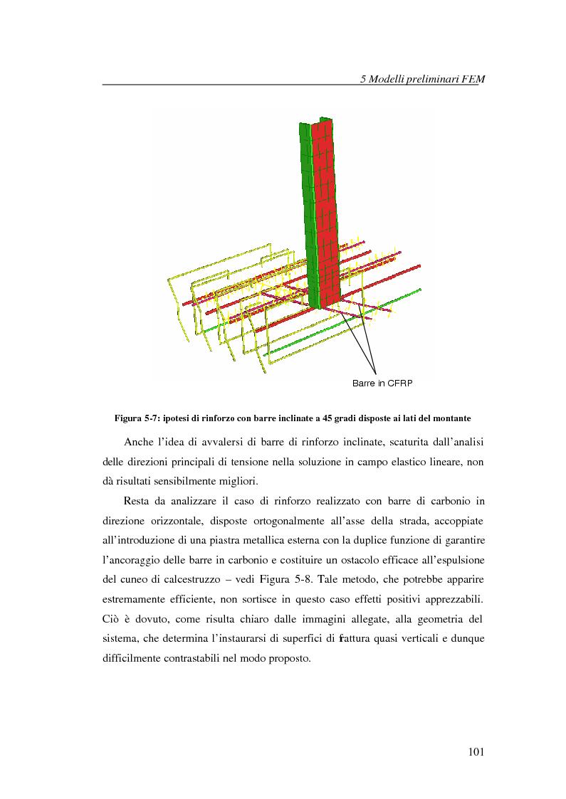 Anteprima della tesi: Adeguamento con compositi fibro-rinforzati per l'installazione di nuove barriere sicurvia sugli impalcati da ponte, Pagina 8