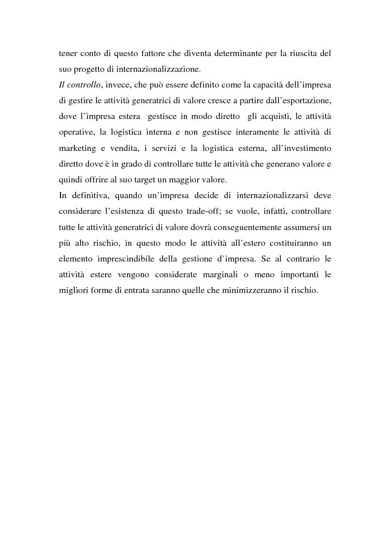 Anteprima della tesi: Globalizzazione e strategie competitive: il caso Fiat auto, Pagina 5
