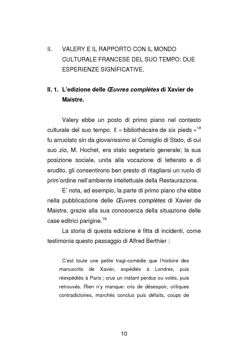 Anteprima della tesi: La versione interfoliata dei ''Voyages historiques, litteraries et artistiques en Italie'' di Antoine-Claude Pasquin Valery, Pagina 13