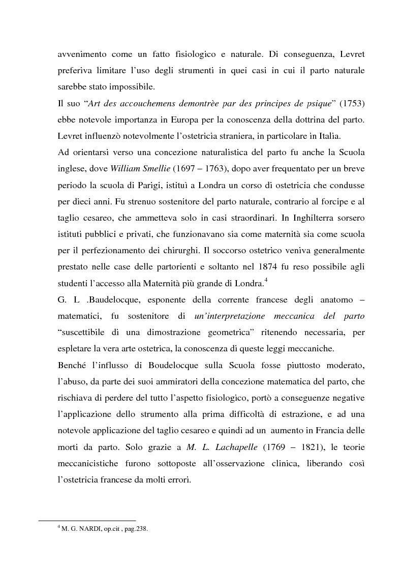 Anteprima della tesi: La formazione dell'ostetrica tra passato e presente. Dall'empirismo alla strutturazione di un curriculum - Il caso di Firenze, Pagina 10