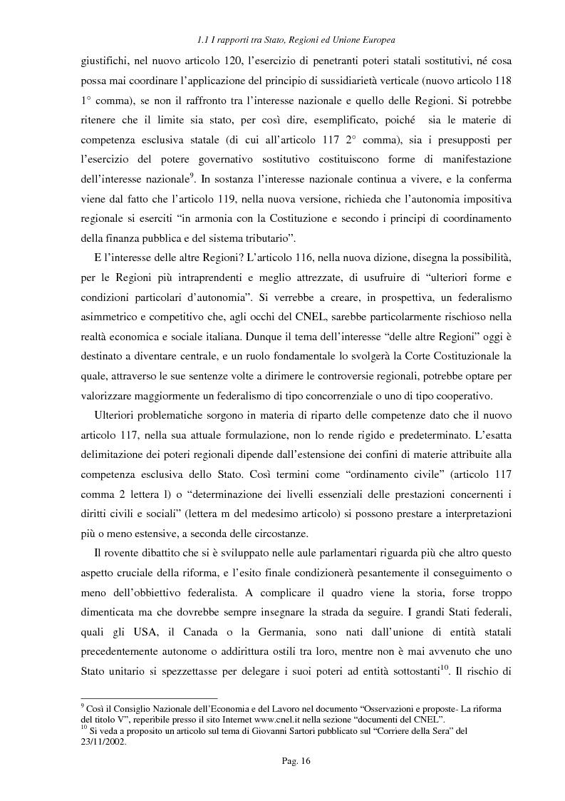 Anteprima della tesi: Ipotesi per uno sviluppo sostenibile: l'agriturismo, Pagina 13