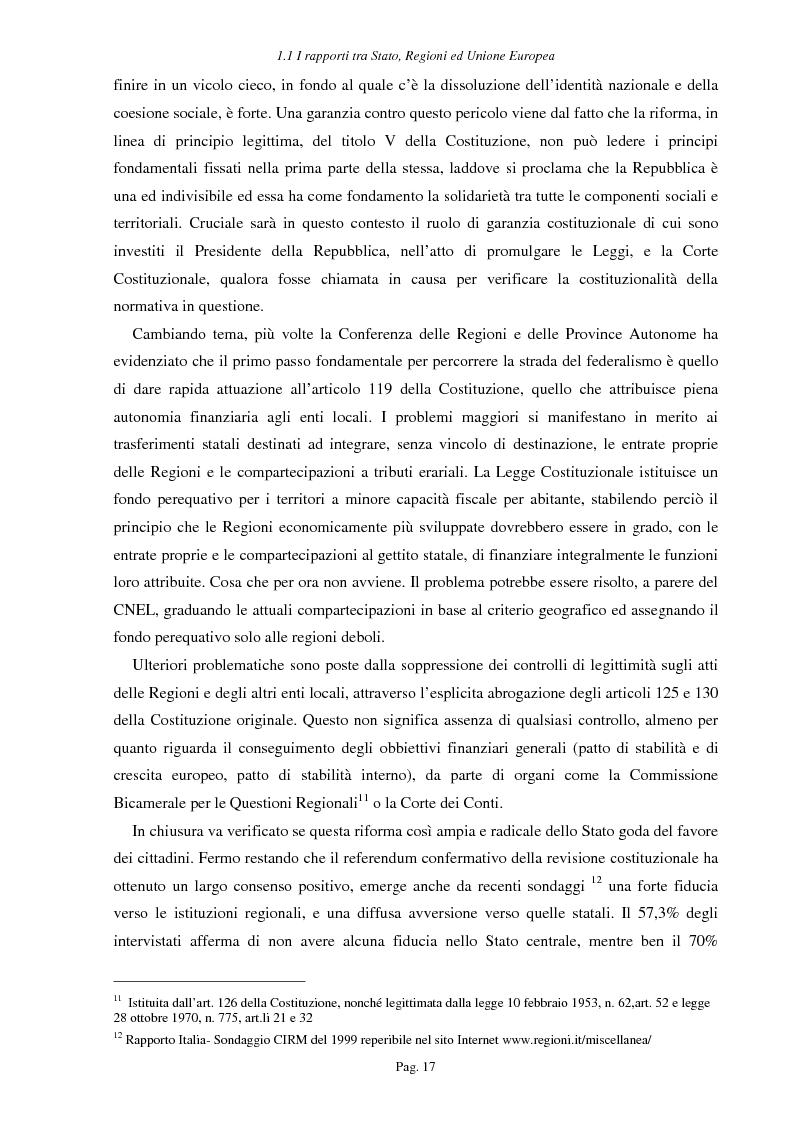 Anteprima della tesi: Ipotesi per uno sviluppo sostenibile: l'agriturismo, Pagina 14
