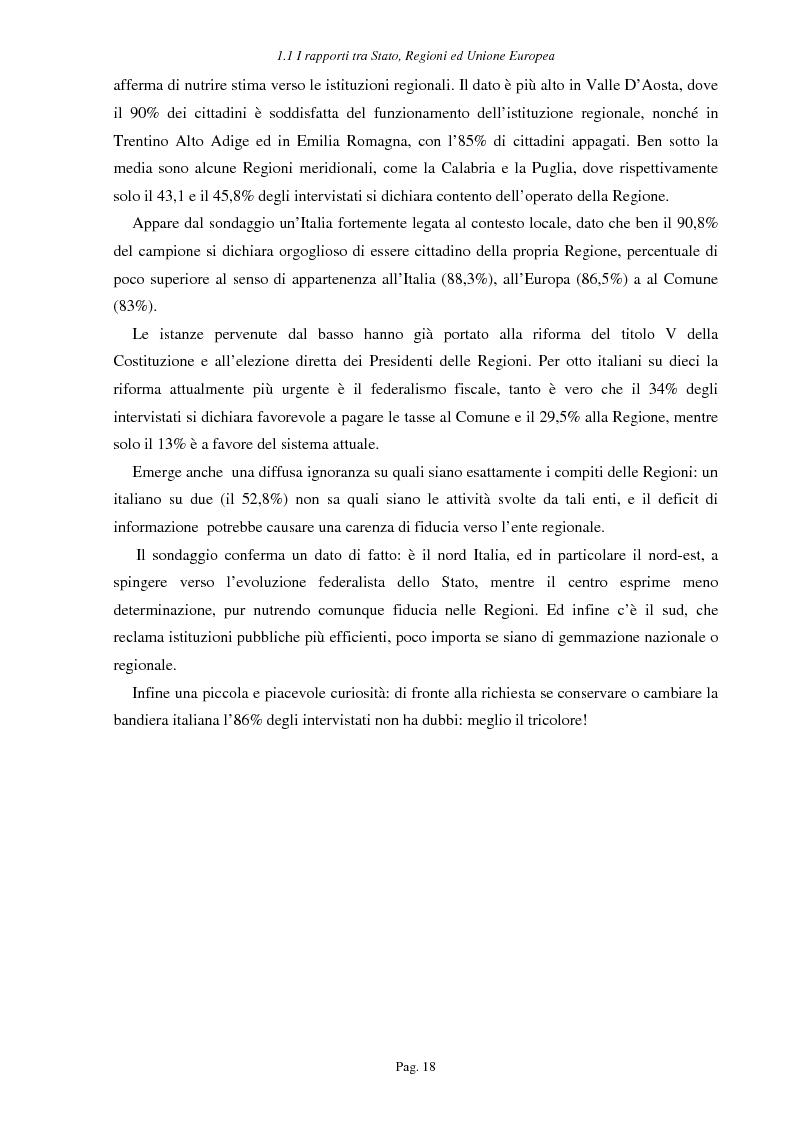 Anteprima della tesi: Ipotesi per uno sviluppo sostenibile: l'agriturismo, Pagina 15