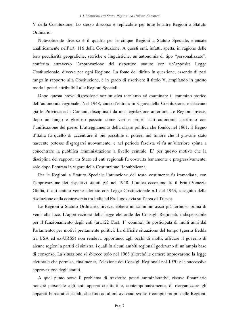 Anteprima della tesi: Ipotesi per uno sviluppo sostenibile: l'agriturismo, Pagina 4