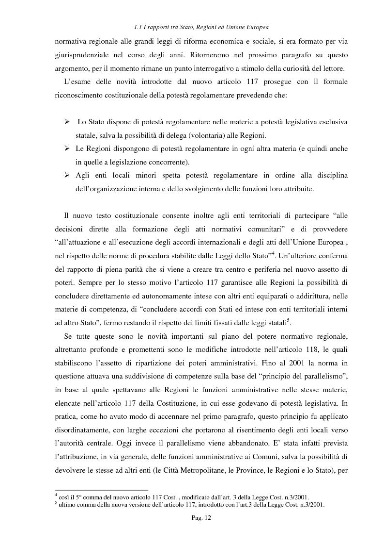 Anteprima della tesi: Ipotesi per uno sviluppo sostenibile: l'agriturismo, Pagina 9