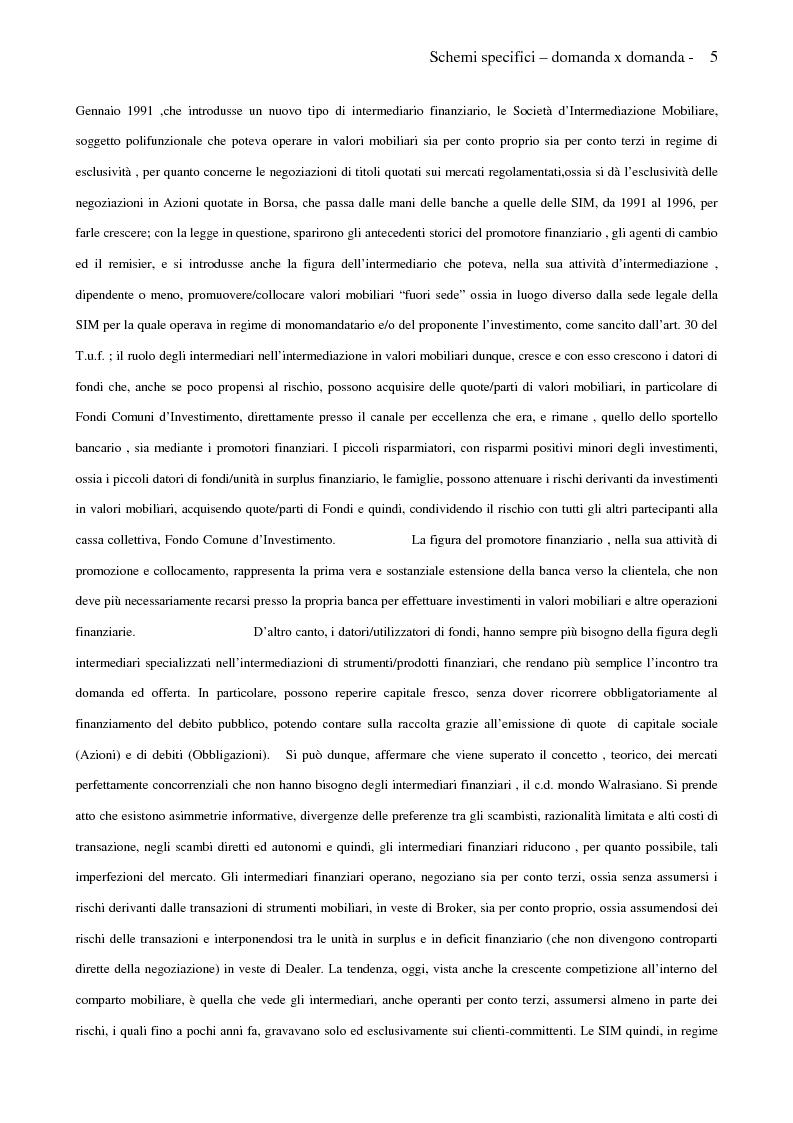 Anteprima della tesi: Internet e promotori finanziari nella gestione dei patrimoni mobiliari on line, Pagina 5