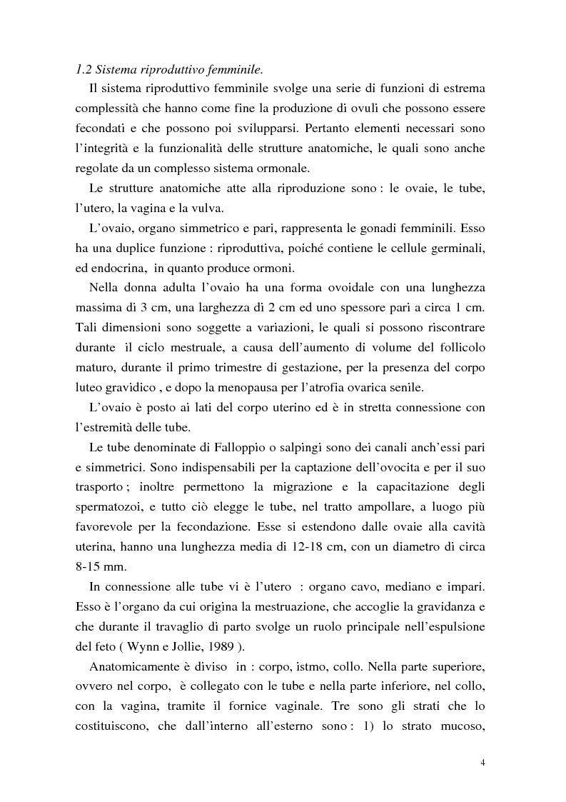 Anteprima della tesi: La procreazione medicalmente assistita: aspetti psicologici e sessuali, Pagina 4