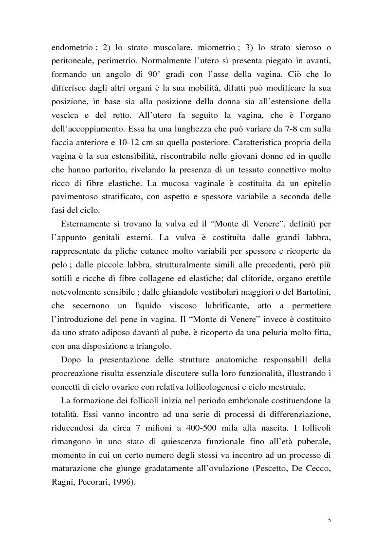 Anteprima della tesi: La procreazione medicalmente assistita: aspetti psicologici e sessuali, Pagina 5