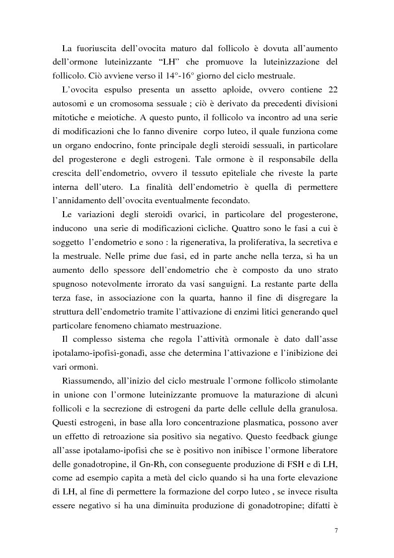 Anteprima della tesi: La procreazione medicalmente assistita: aspetti psicologici e sessuali, Pagina 7
