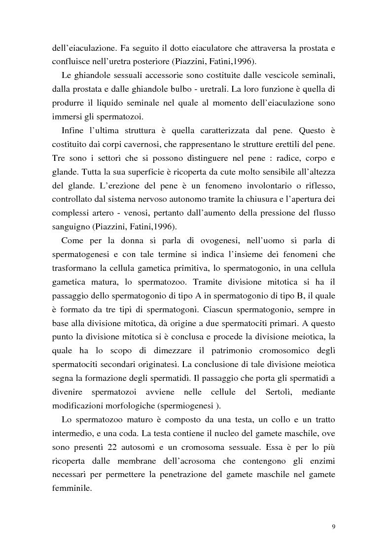 Anteprima della tesi: La procreazione medicalmente assistita: aspetti psicologici e sessuali, Pagina 9