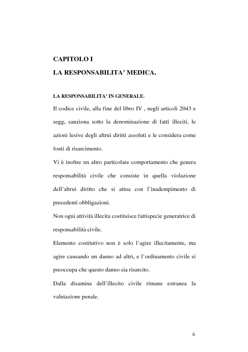 Anteprima della tesi: La responsabilità professionale dell'odontoiatra in ambito protesico, Pagina 3