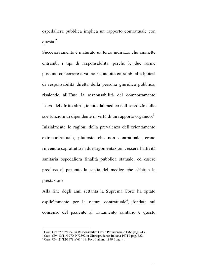 Anteprima della tesi: La responsabilità professionale dell'odontoiatra in ambito protesico, Pagina 8