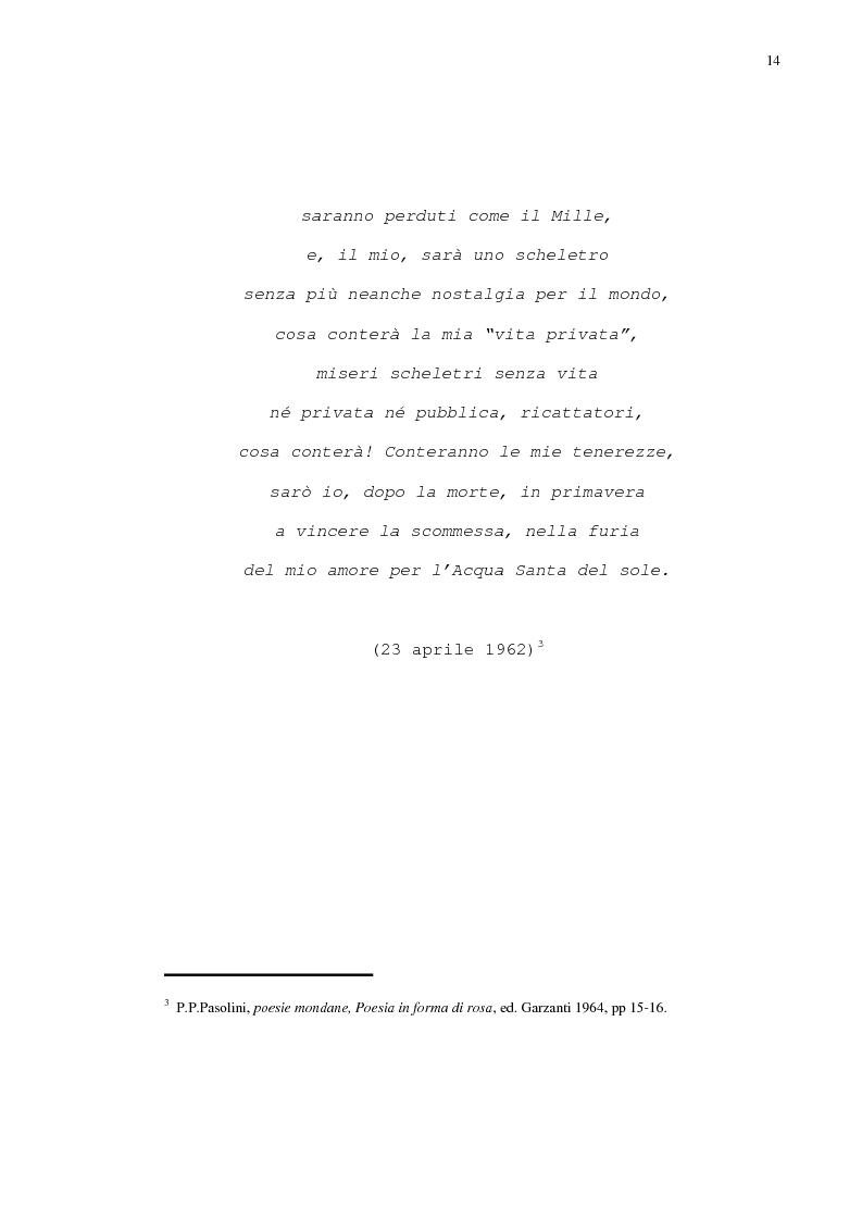 Anteprima della tesi: Pasolini - Il cinema della poesia, Pagina 11