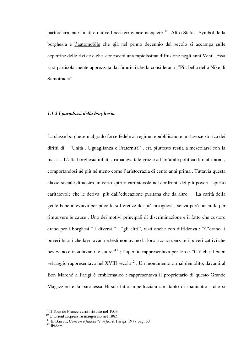 Anteprima della tesi: Dalla Goulue a Mistinguett, viaggio intorno al Moulin Rouge, Pagina 13