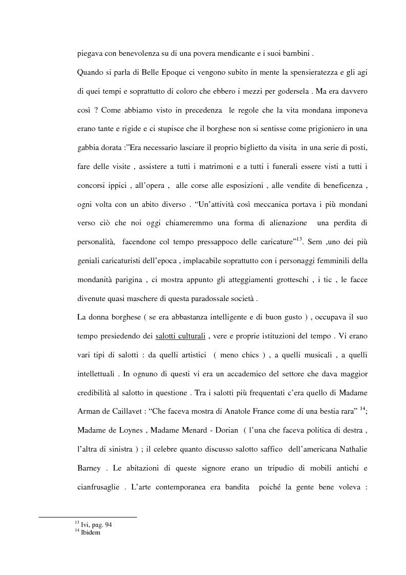 Anteprima della tesi: Dalla Goulue a Mistinguett, viaggio intorno al Moulin Rouge, Pagina 14