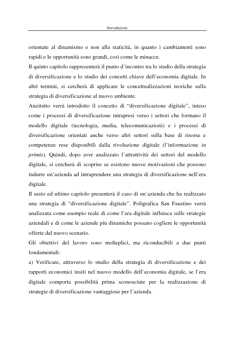 Anteprima della tesi: Strategie di diversificazione nell'era digitale: il caso Poligrafica San Faustino, Pagina 10