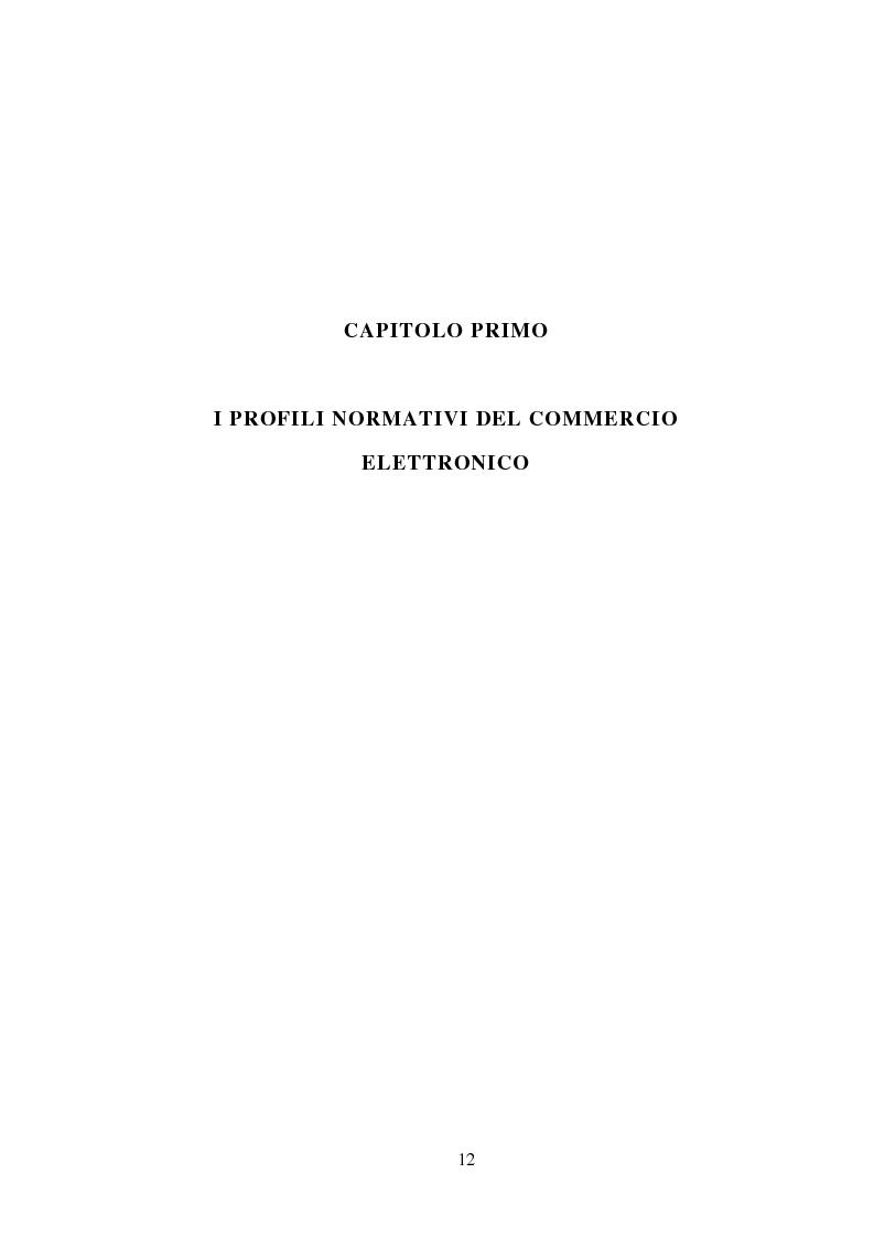 Anteprima della tesi: La stipulazione dei contratti on-line, Pagina 10