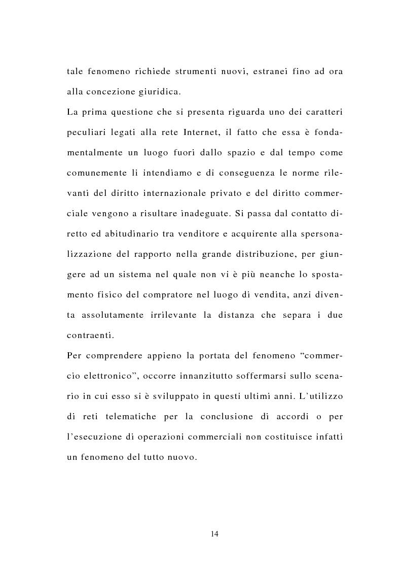 Anteprima della tesi: La stipulazione dei contratti on-line, Pagina 12