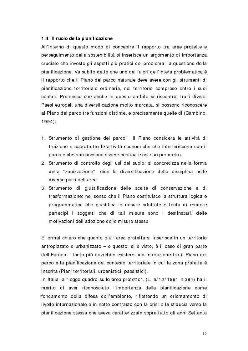 Anteprima della tesi: L'area protetta quale laboratorio di sostenibilità: il caso dell'istituendo Parco del Carso, Pagina 12