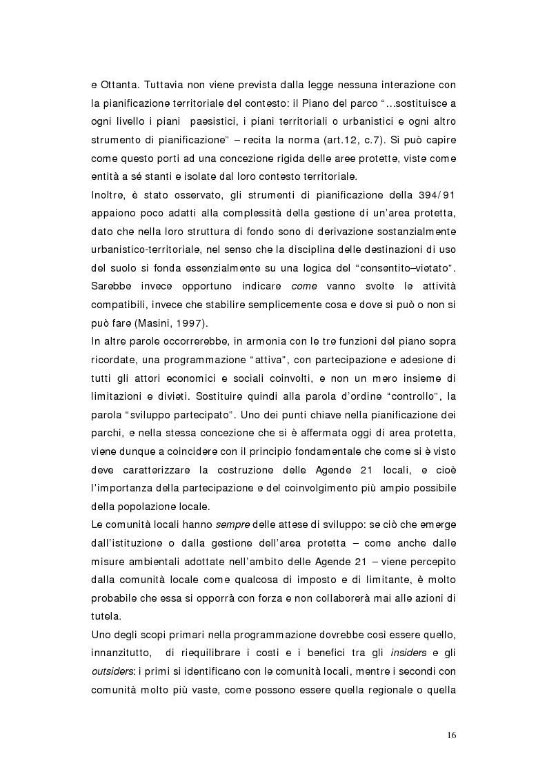 Anteprima della tesi: L'area protetta quale laboratorio di sostenibilità: il caso dell'istituendo Parco del Carso, Pagina 13