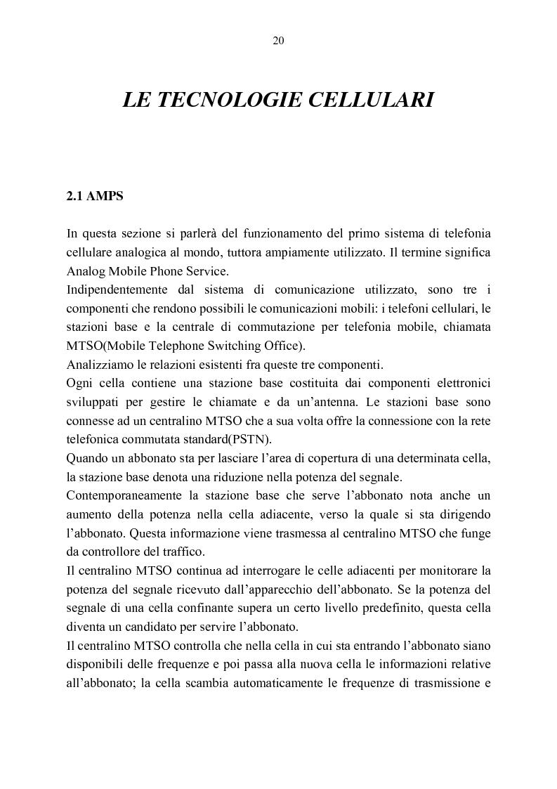 Anteprima della tesi: Rassegna critica sulle modalità di accesso alla wireless internet, Pagina 13
