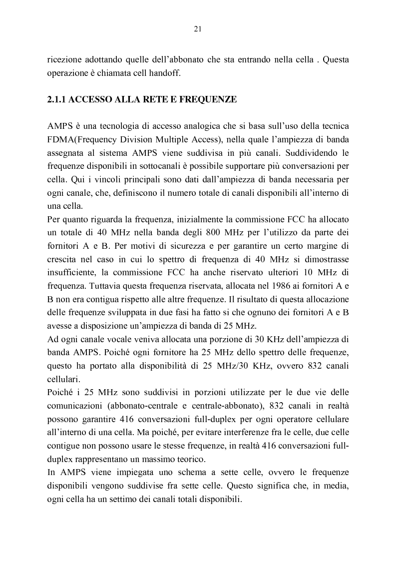 Anteprima della tesi: Rassegna critica sulle modalità di accesso alla wireless internet, Pagina 14