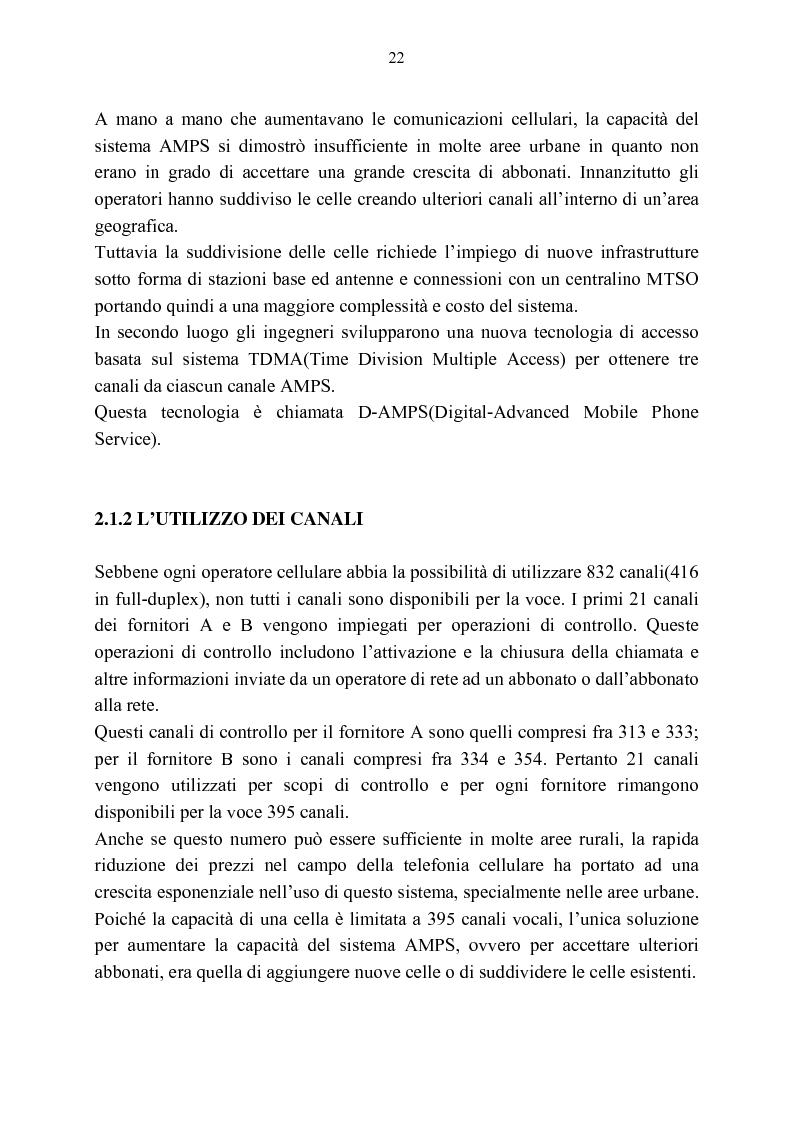 Anteprima della tesi: Rassegna critica sulle modalità di accesso alla wireless internet, Pagina 15